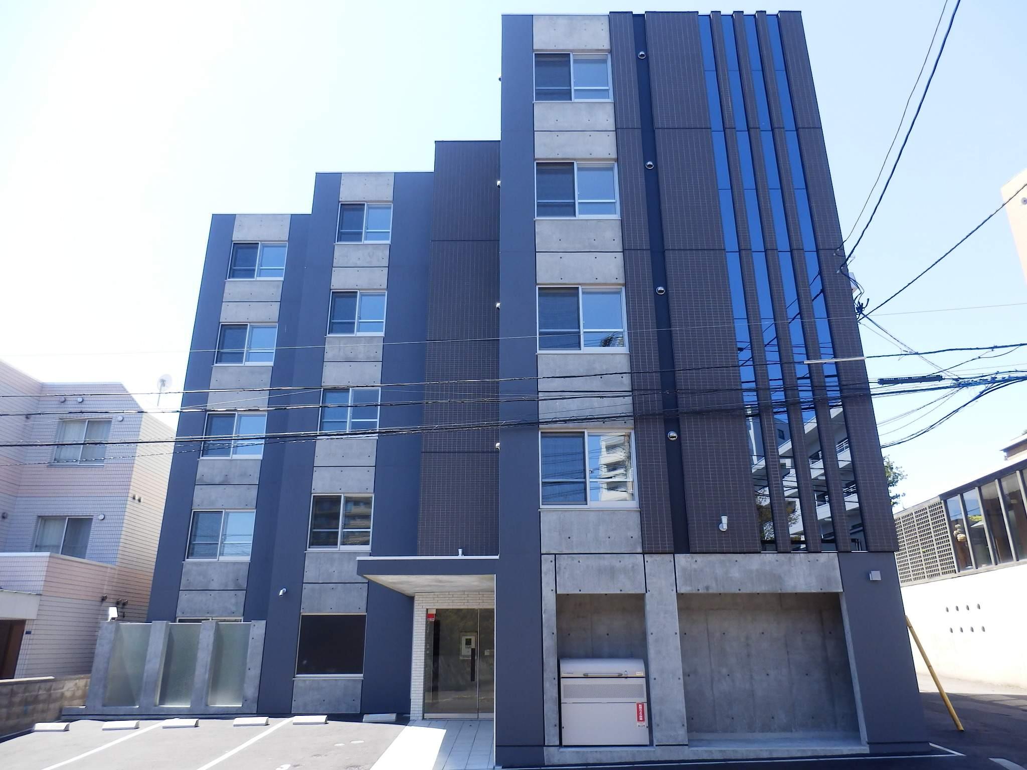 北海道札幌市中央区、二十四軒駅徒歩18分の築1年 5階建の賃貸マンション