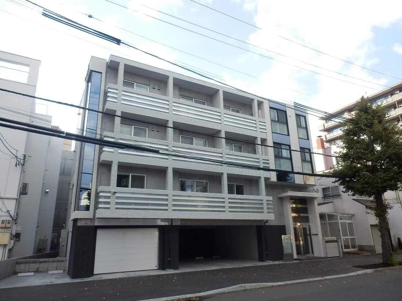 北海道札幌市中央区、西28丁目駅徒歩14分の新築 4階建の賃貸マンション