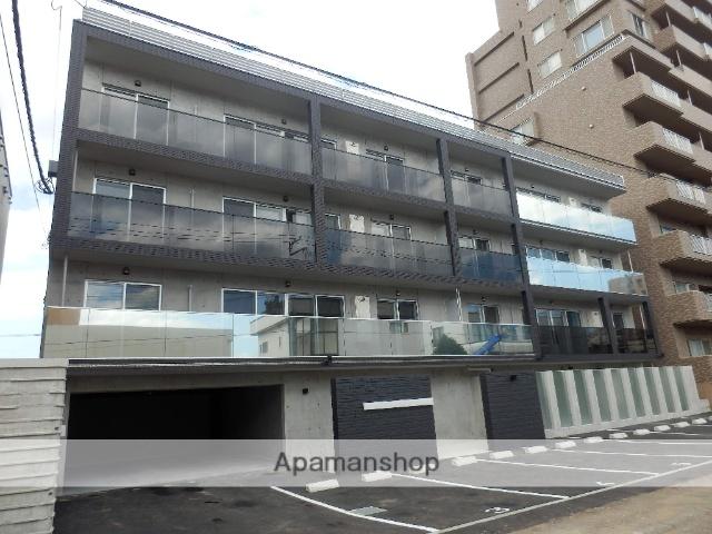 北海道札幌市中央区、桑園駅徒歩13分の新築 4階建の賃貸マンション