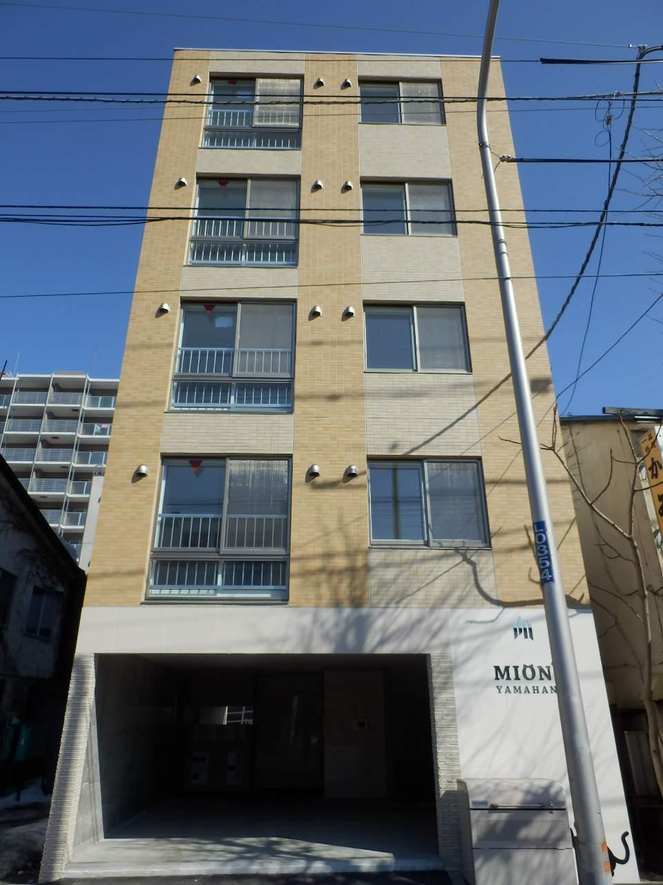 北海道札幌市中央区、石山通駅徒歩9分の新築 5階建の賃貸マンション