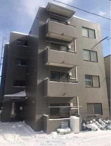 北海道札幌市中央区、中央図書館前駅徒歩17分の築26年 4階建の賃貸マンション