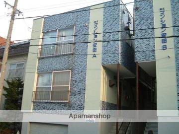北海道札幌市中央区、中島公園駅徒歩8分の築37年 3階建の賃貸アパート