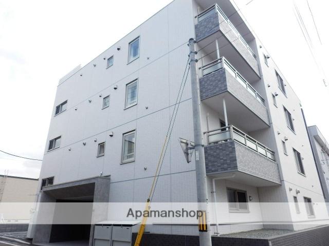 北海道札幌市中央区、西線11条駅徒歩11分の新築 4階建の賃貸マンション