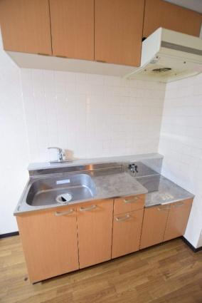 北海道札幌市中央区南五条西16丁目[1DK/21.98m2]のキッチン