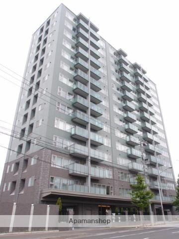 北海道札幌市中央区、幌平橋駅徒歩1分の築7年 14階建の賃貸マンション