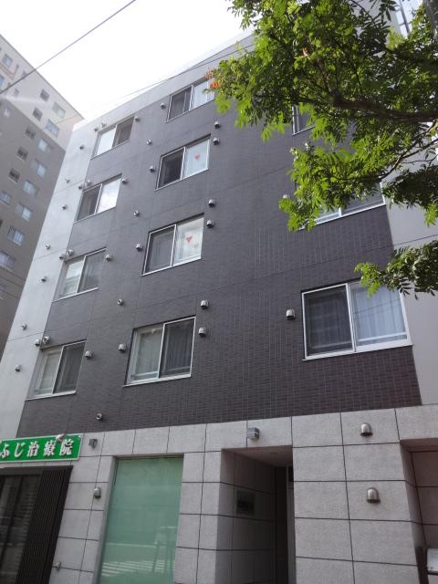 北海道札幌市中央区、バスセンター前駅徒歩2分の築4年 5階建の賃貸マンション