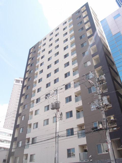 北海道札幌市中央区、中島公園駅徒歩4分の築4年 14階建の賃貸マンション