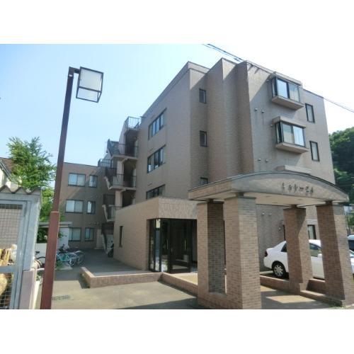 北海道札幌市中央区、電車事業所前駅徒歩7分の築18年 5階建の賃貸マンション
