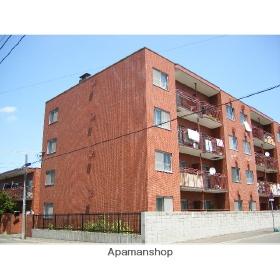 北海道札幌市中央区、石山通駅徒歩13分の築37年 4階建の賃貸マンション