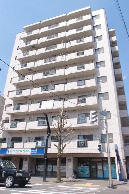 北海道札幌市中央区、円山公園駅徒歩15分の築27年 10階建の賃貸マンション