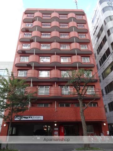 北海道札幌市中央区、バスセンター前駅徒歩5分の築26年 9階建の賃貸マンション