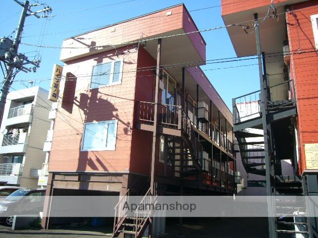 北海道札幌市中央区、琴似駅徒歩15分の築30年 3階建の賃貸アパート