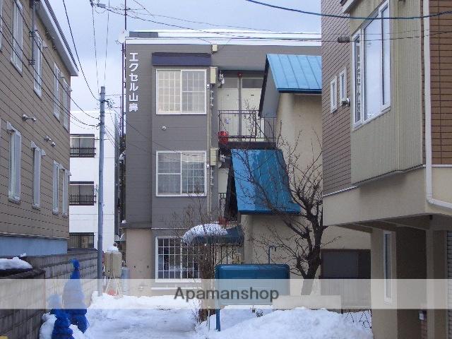 北海道札幌市中央区、幌平橋駅徒歩9分の築27年 3階建の賃貸アパート