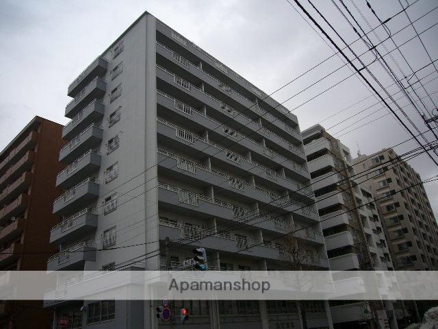 北海道札幌市中央区、西11丁目駅徒歩5分の築47年 11階建の賃貸マンション