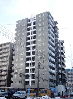 北海道札幌市中央区、札幌駅徒歩5分の築9年 14階建の賃貸マンション