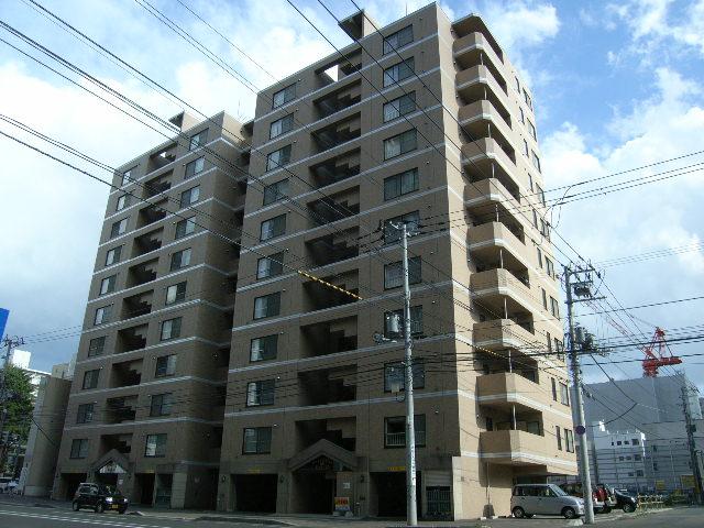 北海道札幌市中央区、バスセンター前駅徒歩3分の築15年 11階建の賃貸マンション