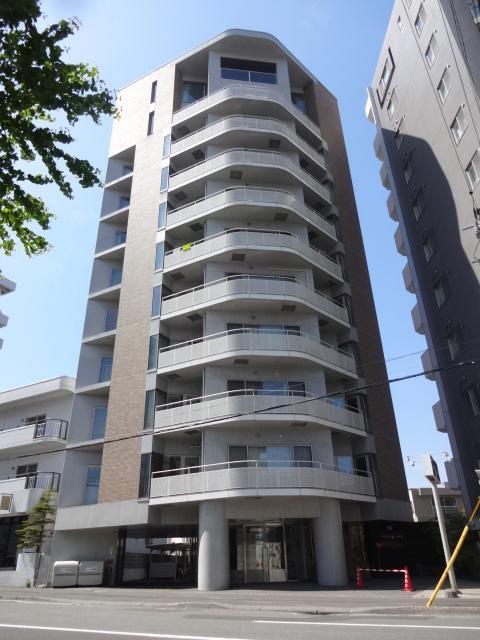 北海道札幌市中央区、二十四軒駅徒歩16分の築17年 11階建の賃貸マンション