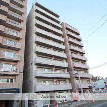 北海道江別市、野幌駅徒歩1分の築14年 10階建の賃貸マンション