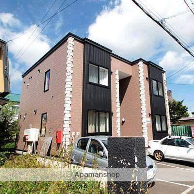 北海道江別市、大麻駅徒歩22分の築8年 2階建の賃貸アパート