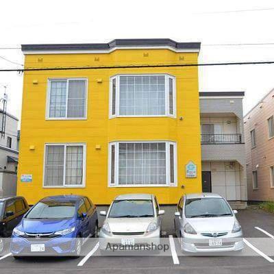 北海道江別市、野幌駅徒歩17分の築26年 2階建の賃貸アパート