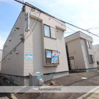 北海道江別市、野幌駅徒歩10分の築31年 2階建の賃貸アパート