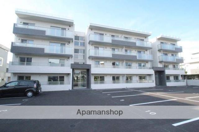北海道江別市、森林公園駅徒歩55分の新築 4階建の賃貸マンション