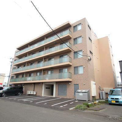 北海道江別市、大麻駅徒歩60分の新築 5階建の賃貸マンション