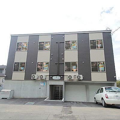 北海道江別市、大麻駅徒歩14分の新築 2階建の賃貸アパート