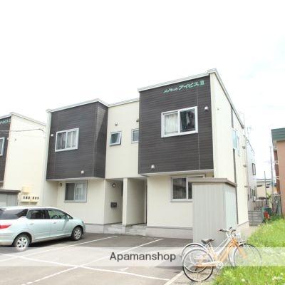 北海道江別市、野幌駅徒歩5分の築9年 2階建の賃貸テラスハウス