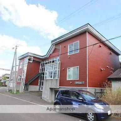 北海道江別市、大麻駅徒歩31分の築27年 2階建の賃貸アパート