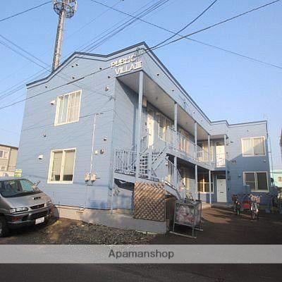 北海道江別市、大麻駅徒歩42分の築25年 2階建の賃貸アパート