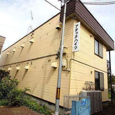 北海道江別市、野幌駅徒歩9分の築32年 2階建の賃貸アパート