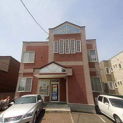 北海道江別市、大麻駅徒歩5分の築22年 2階建の賃貸アパート