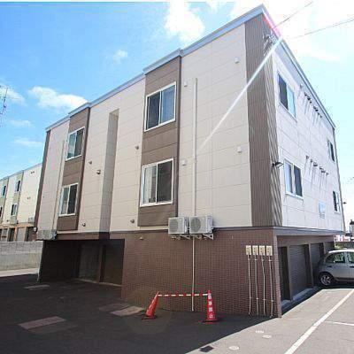北海道江別市、森林公園駅徒歩21分の築10年 2階建の賃貸アパート