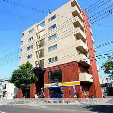 北海道江別市、野幌駅徒歩1分の築17年 7階建の賃貸マンション