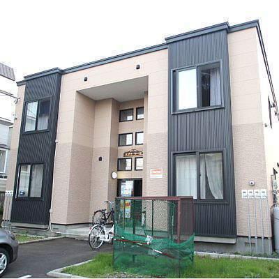 北海道江別市、大麻駅徒歩27分の築12年 2階建の賃貸アパート