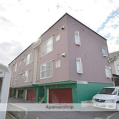 北海道江別市、野幌駅徒歩24分の築25年 2階建の賃貸アパート