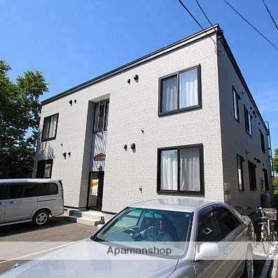 北海道江別市、野幌駅徒歩6分の築9年 2階建の賃貸アパート