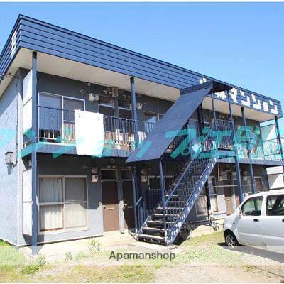 北海道江別市の築34年 2階建の賃貸アパート