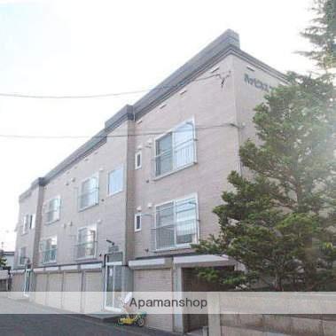 北海道江別市、野幌駅徒歩10分の築15年 2階建の賃貸アパート