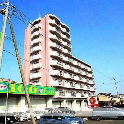 北海道江別市、高砂駅徒歩7分の築28年 9階建の賃貸マンション