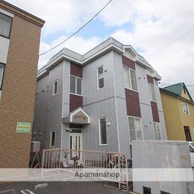 北海道江別市、大麻駅徒歩14分の築25年 2階建の賃貸アパート