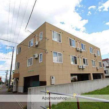 北海道江別市、野幌駅徒歩9分の築16年 3階建の賃貸マンション