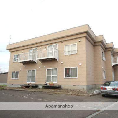 北海道江別市、野幌駅徒歩21分の築30年 2階建の賃貸アパート