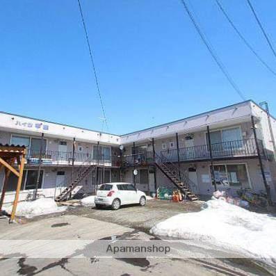 北海道江別市、高砂駅徒歩17分の築29年 2階建の賃貸アパート