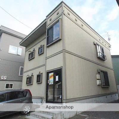 北海道江別市の築13年 2階建の賃貸アパート