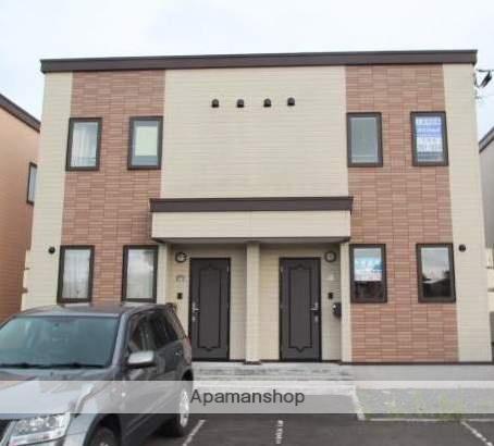 北海道江別市、江別駅徒歩30分の築12年 2階建の賃貸アパート