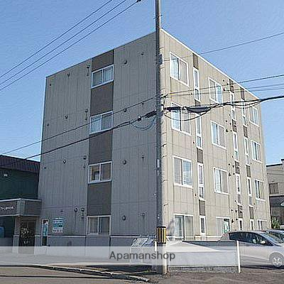 北海道江別市、野幌駅徒歩15分の築16年 4階建の賃貸マンション