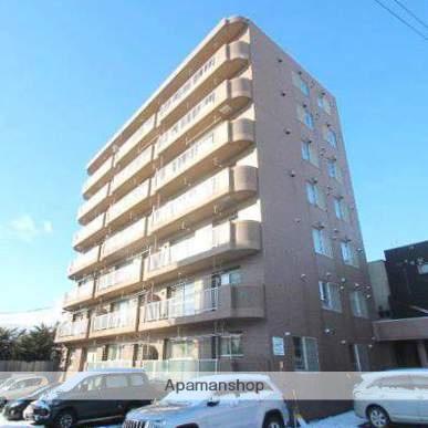 北海道江別市、大麻駅徒歩7分の築23年 7階建の賃貸マンション