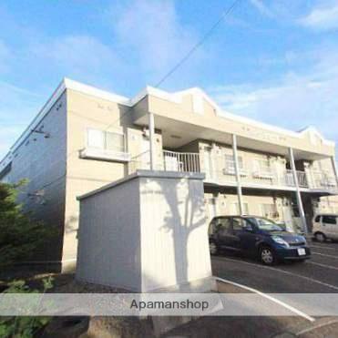 北海道江別市、野幌駅徒歩26分の築28年 2階建の賃貸アパート